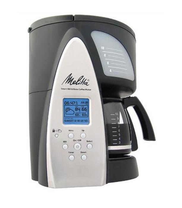 Кофейник Melitta Smart Mill & Brew