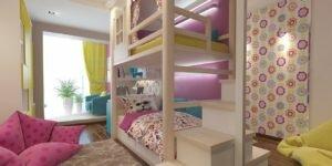 Дизайн одной маленькой детской комнаты